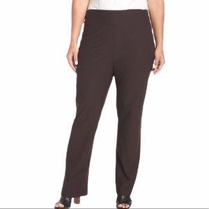 Eileen Fisher Stretch Linen Blend Straight Leg Pants